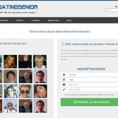 Avis Datingsenior : Rencontrer des seniors facilement